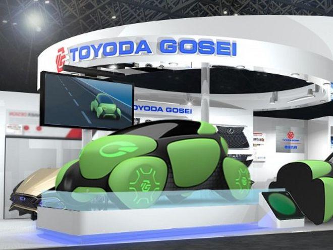 Японцы начали производить резиновые автомобили