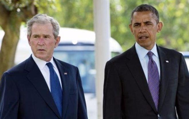 Буш и Обама резко высказались о политике Трампа