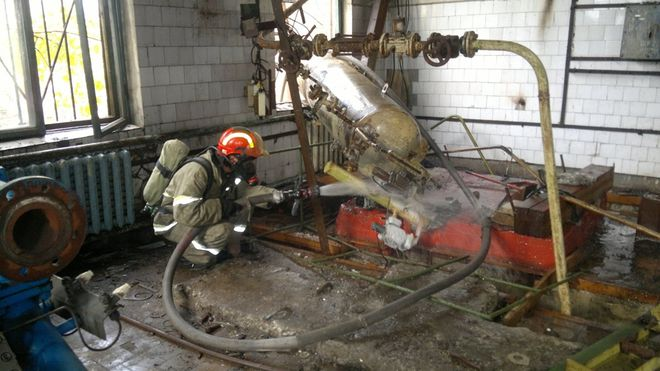 В Донецкой области произошла утечка аммиака