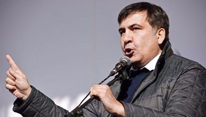Саакашвили анонсировал вече у стен Верховной Рады