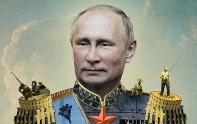 Популярный журнал изобразил Путина в виде царя
