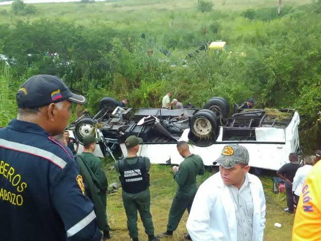 В Венесуэле произошло масштабное ДТП, есть жертвы