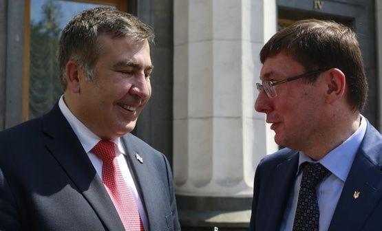 Луценко арестует Саакашвили и депортирует в Грузию