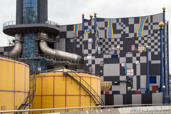 В Вене построили сказочный мусоросжигательный завод