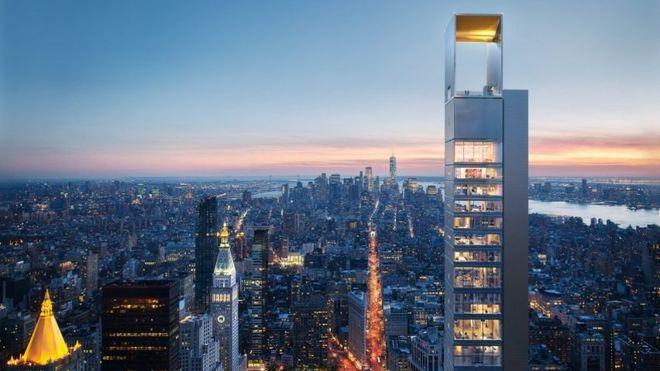 В Нью-Йорке появится ультратонкий небоскреб