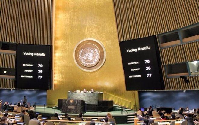 Украина внесла в ООН обновленную резолюцию по Крыму