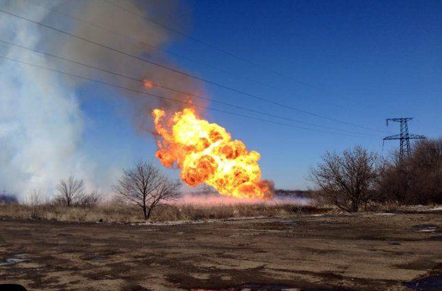 В Крыму взорвали два газопровода