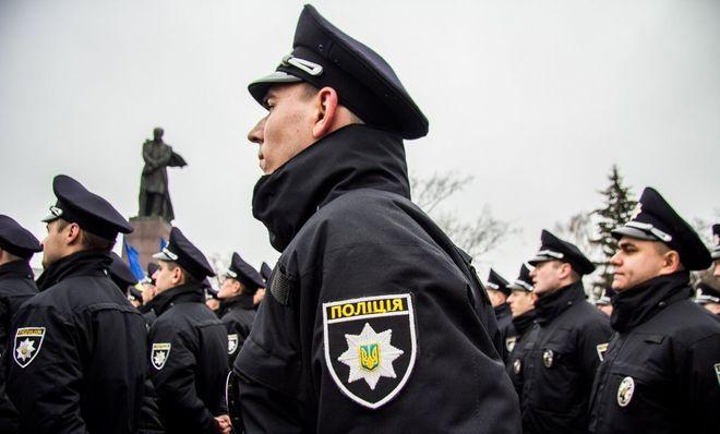 На улицах Киева станет больше полицейских