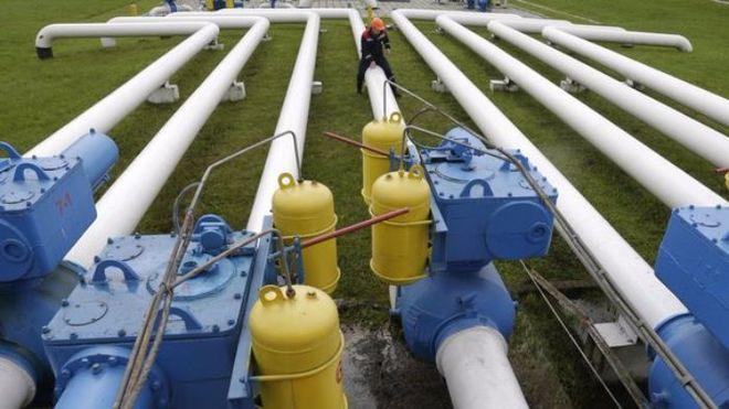Украина существенно увеличила транзит природного газа