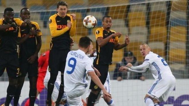 Динамо обыграло Янг Бойз и выходит в 1/16 Лиги Европы