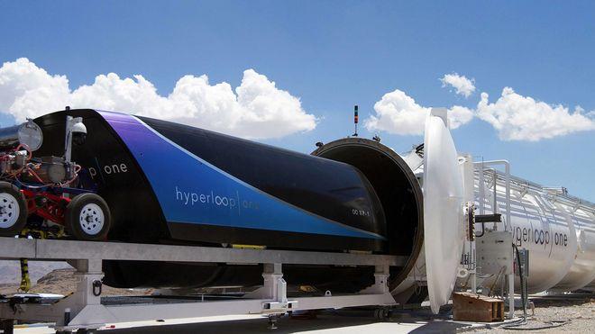 Virgin Hyperloop начнет строительство линии сверхскоростного поезда до 2020 года