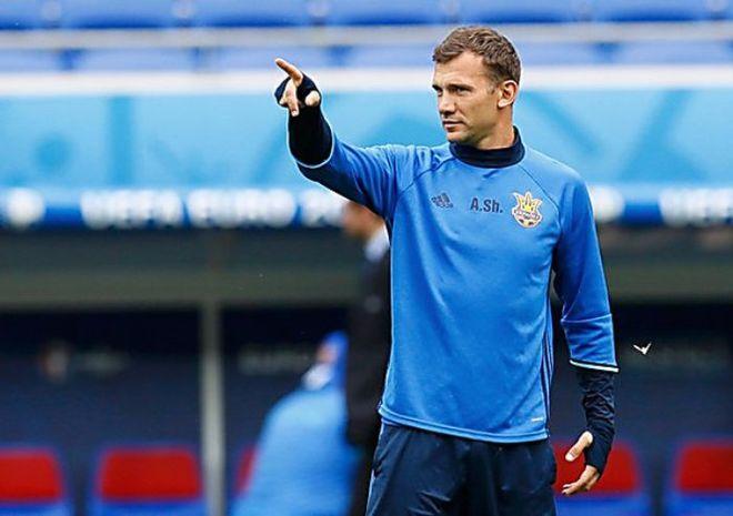 Шевченко продолжит тренировать сборную Украины по футболу