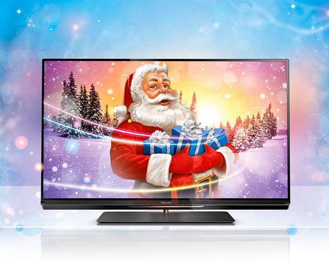 Поздравление к подаркам телевизор