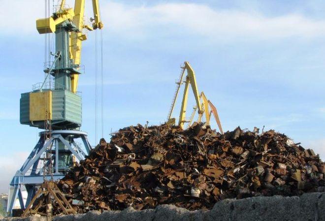 Украина увеличила экспорт металлолома более чем на половину