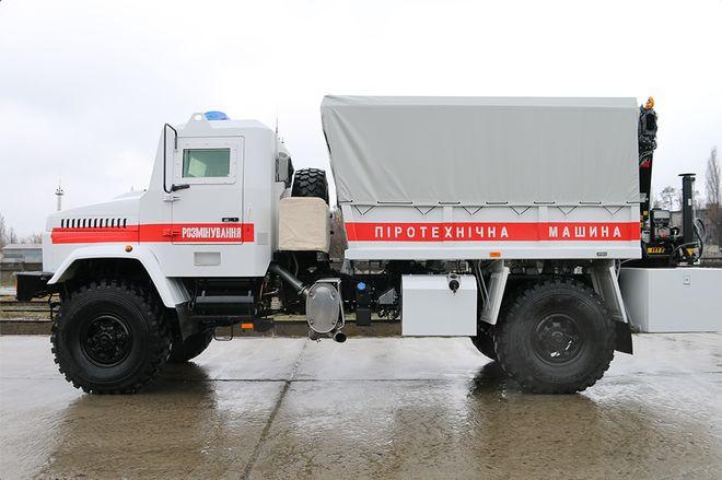 «КрАЗ» создал броневик для разминирования