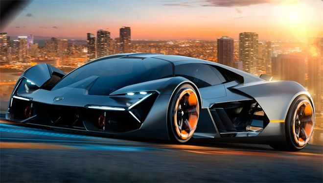 Lamborghini представила концептуальный электрический суперкар Terzo Millennio