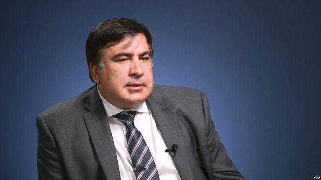 Неизвестные жестоко избили водителя Саакашвили