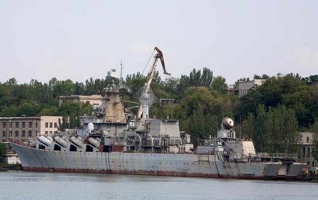 В Украине решают судьбу единственного ракетного крейсера