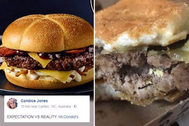 В Австралии девушка наелась личинок в McDonalds