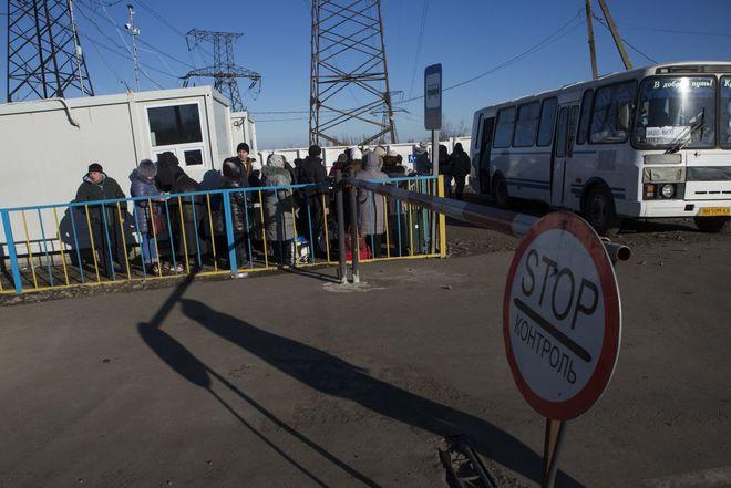 «Восстановление Донбасса» заявляет о массовых задержаниях на блокпостах