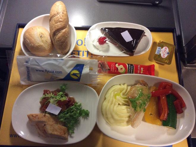 В МАУ посчитали, сколько едят пассажиры