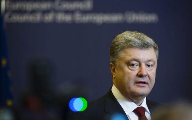 Порошенко договорился о трех траншах финансовой помощи от ЕС