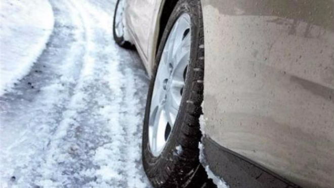 Киевлян предупредили о гололедице и мокром снеге
