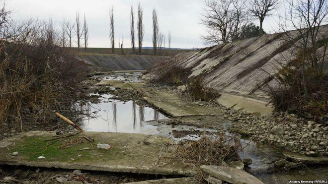 Водохранилища в Крыму умирают