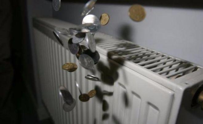 Украинцы не спешат платить за горячую воду и отопление