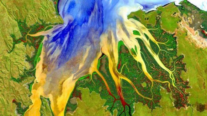 В NASA показали новые снимки Земли из космоса