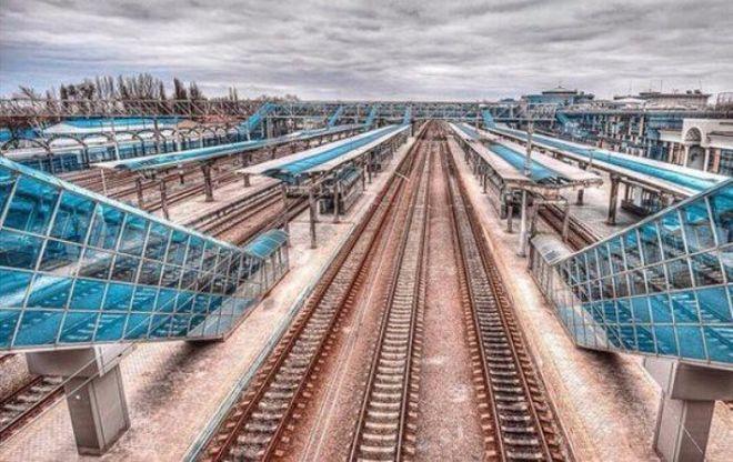 Ж/д вокзал в оккупированном Донецке поразил своей пустотой