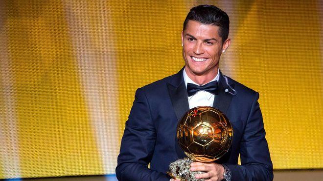 Криштиану Роналду получил пятый «Золотой мяч»