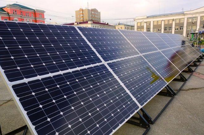 Литовская компания хочет производить солнечные панели в Украине