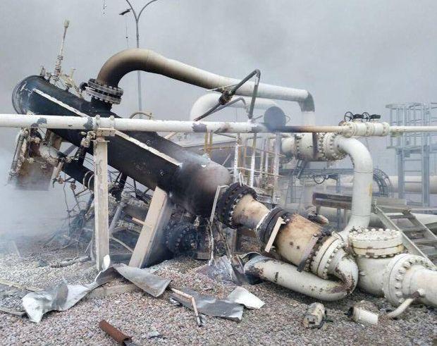 Опубликованы свежие фото последствий взрыва на газопроводе в Австрии