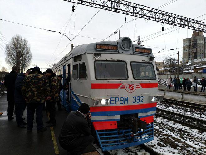 Киев с пригородами соединят новые челночные электрички