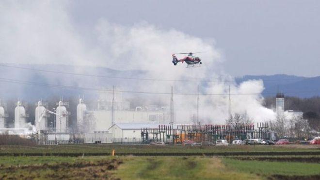 Из-за взрыва на газовой станции в Австрии в Украине сократился транзит газа