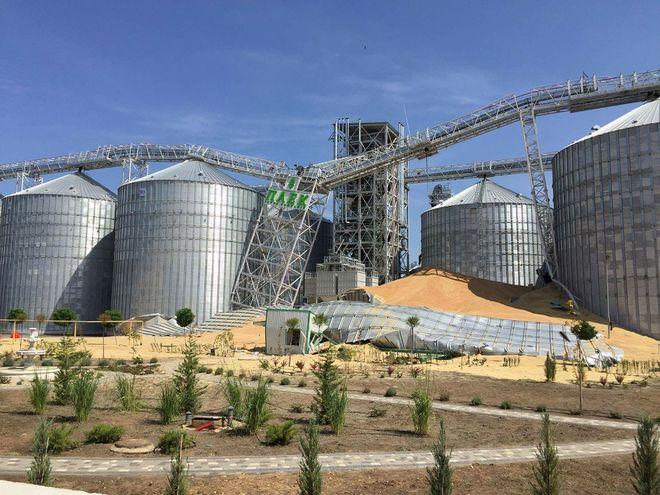 В Украине построили «кукурузный» элеватор