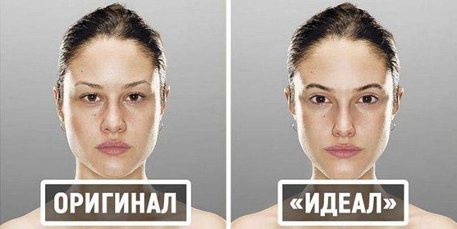 Фотограф показал идеальные пропорции человеческих лиц