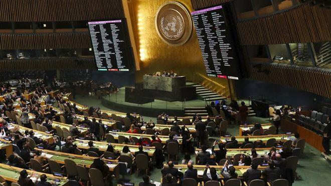 США согласовали сокращение бюджета ООН на 285 млн долларов