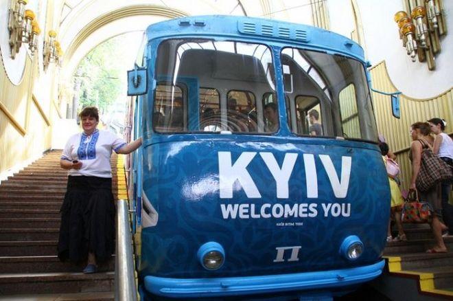 Киевский фуникулер надолго закроют