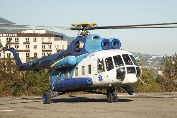 В оккупированном Крыму  хотят построить частный вертолетодром