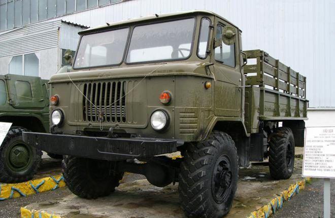 В Украине замечен французский ГАЗ-66