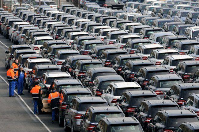 ВУкраинском государстве  автопроизводство выросло на63%