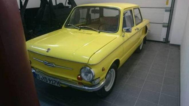 Немец выставил на продажу модернизированный ЗАЗ-968