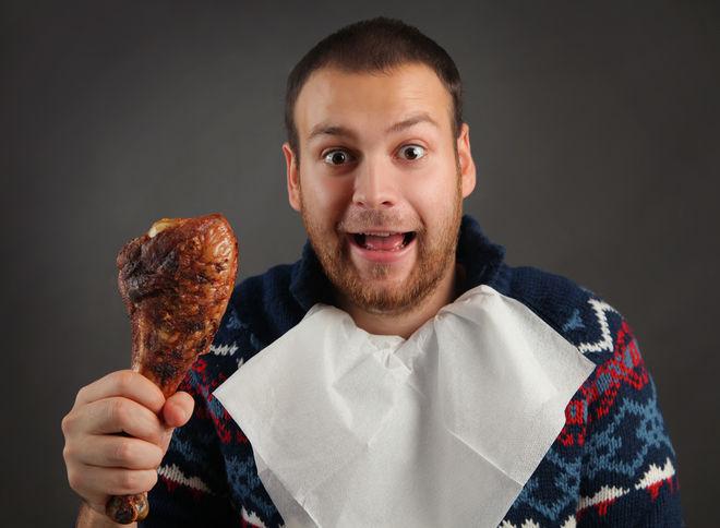 Половину мясного рациона украинцев составляет курятина