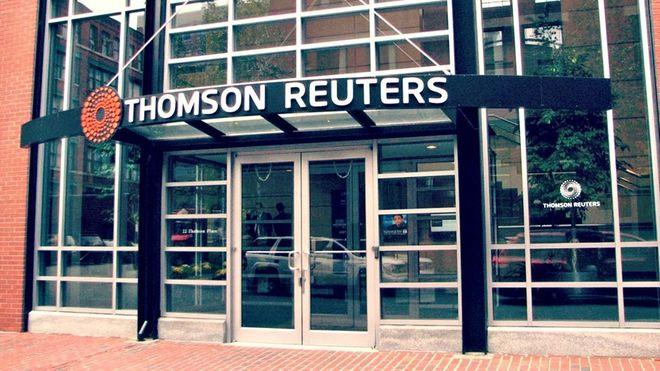 Blackstone Group обсуждает покупку 55% основного подразделения Thomson Reuters