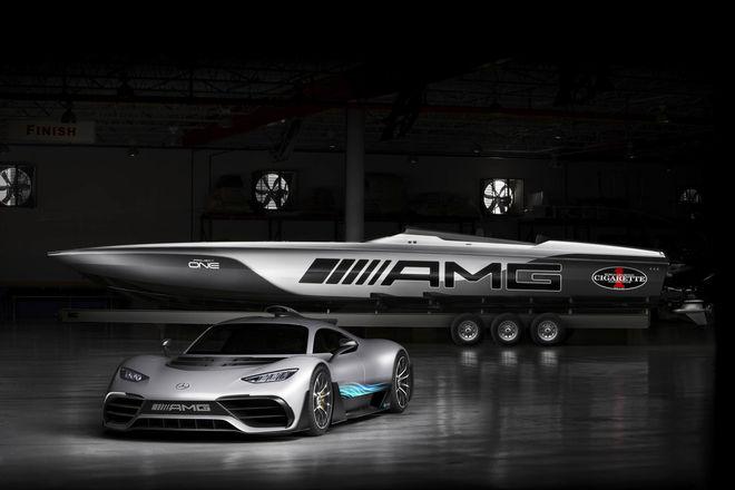 Mercedes выпустил гоночный суперкатер за $2 млн