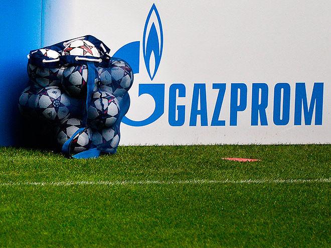 «Газпром» договорился с UEFA