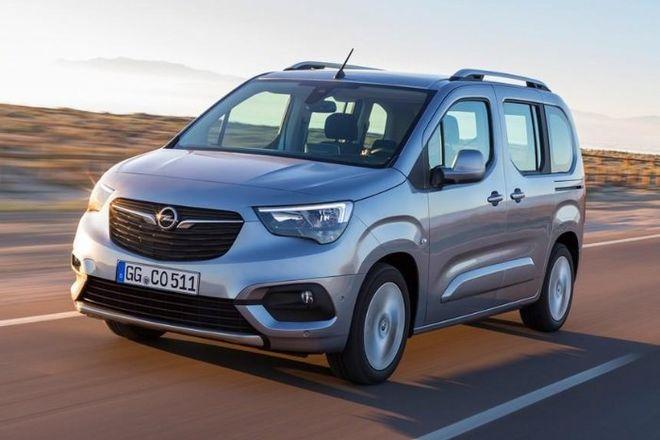В Сети показали официальные фото нового Opel Combo