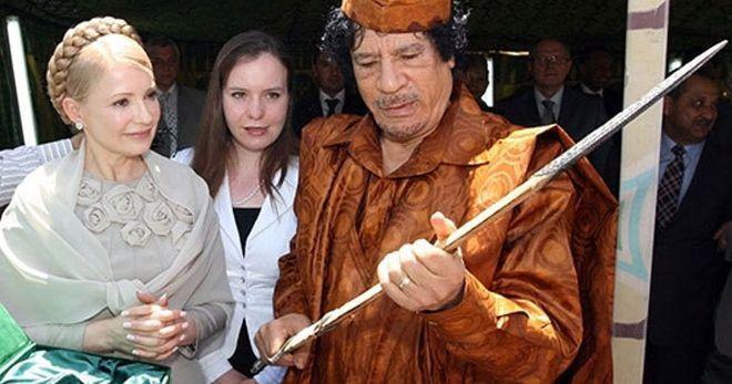 Каддафи давал деньги Тимошенко на выборы – арабские СМИ
